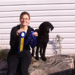 Eleonore Barbet winning dog competitions